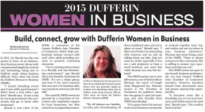 Feb 24/15 Orangeville Banner Article- Page 9