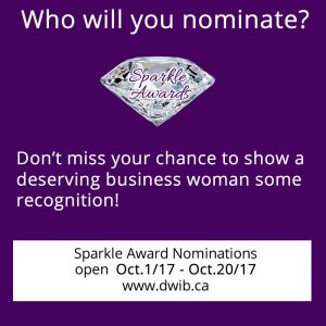 Sparkle Award nominations