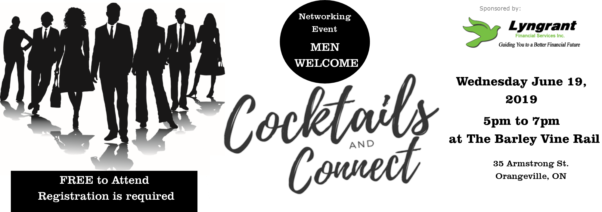 Co-ed networking event